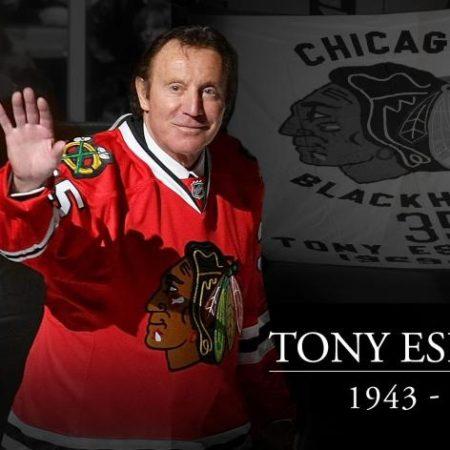 Berömda målvakten och Chicago Blackhawks-legenden Tony Esposito dör 78 år gammal